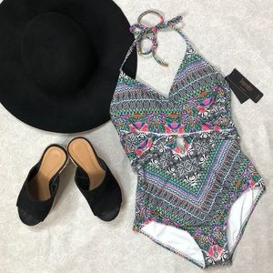Laundry one piece swim suit